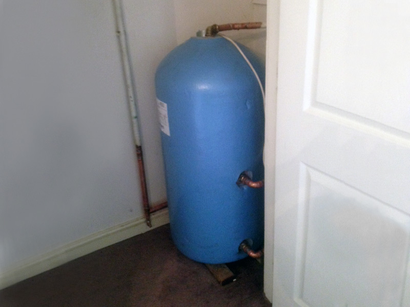 Installation and repairs to Hot Water Cylinders